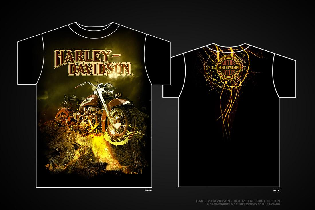 Harley Davidson - Hot Metal by damnengine