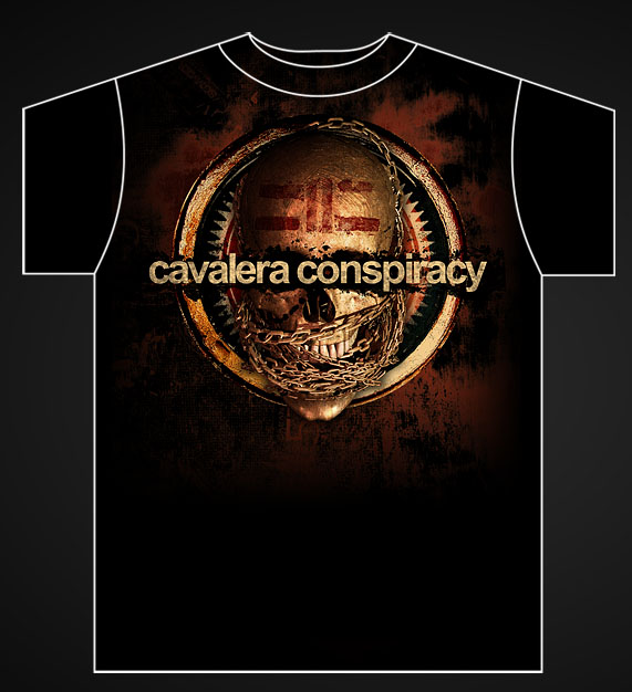 Cavalera Conspiracy Shirt by damnengine