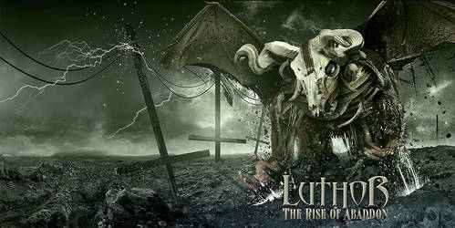 Luthor - The Rise of Abaddon CD cover