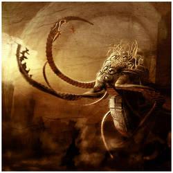 Lovecraft - Shoggoth by damnengine