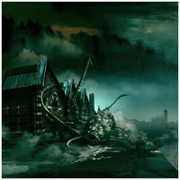 The Shadow Over Innsmouth by damnengine