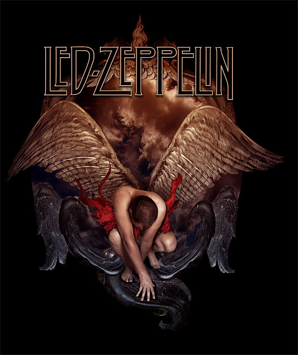 Led Zeppelin - Icarus I by damnengine