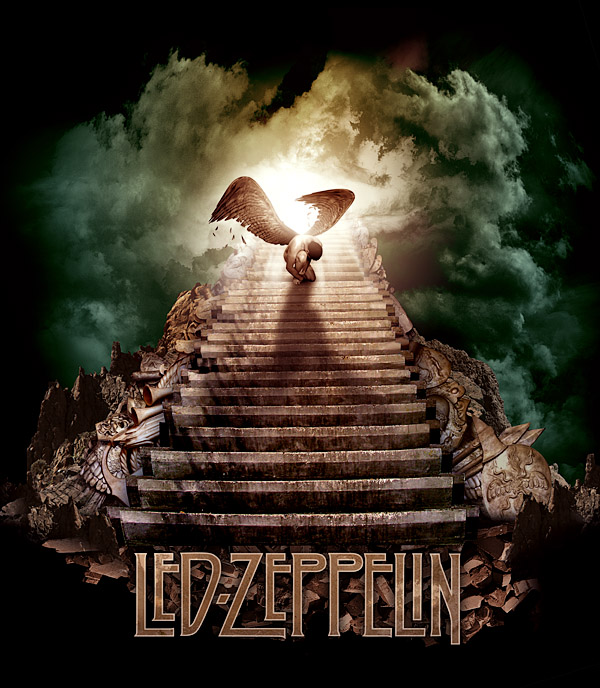 Led Zeppelin - Stairway by damnengine