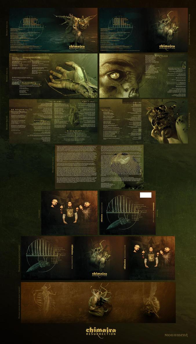 Chimaira - Resurrection CD by damnengine