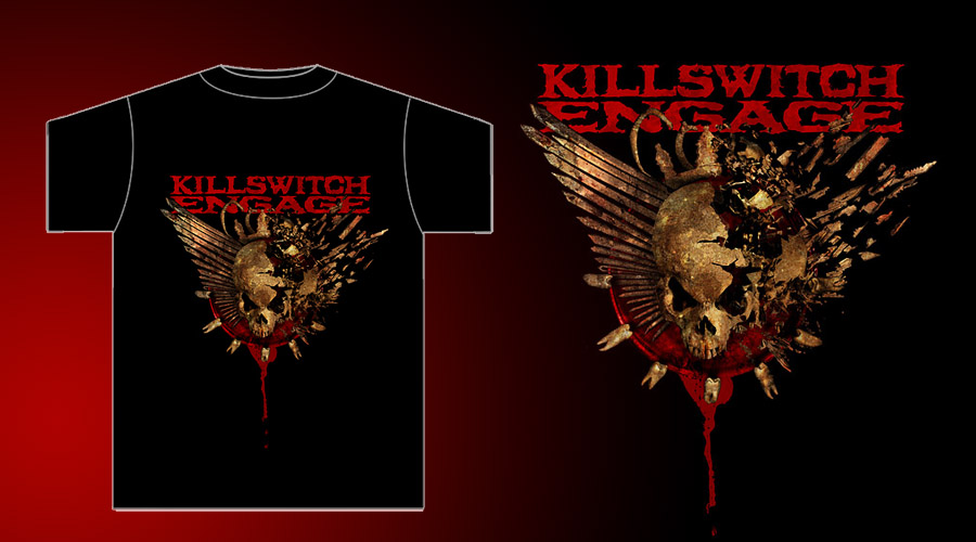 Killswitch Engage-Skull shirt by damnengine