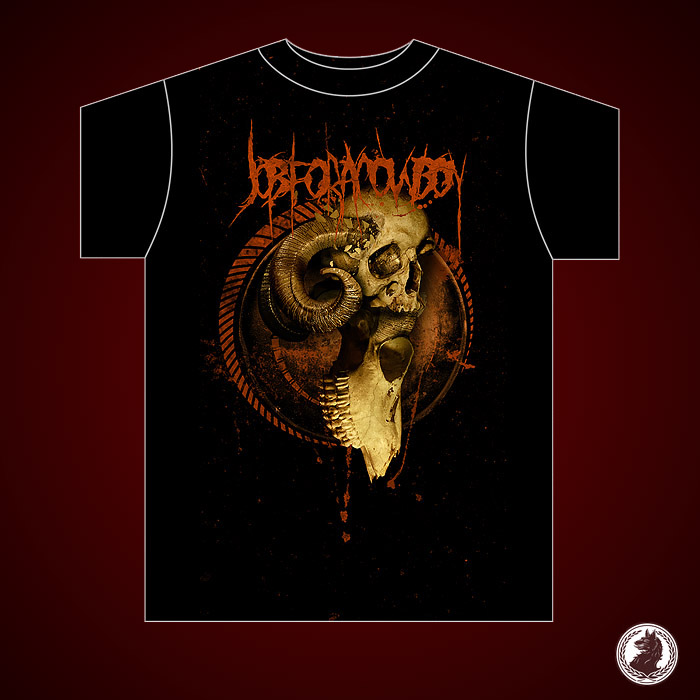 JFAC - Impaled Skull shirt by damnengine