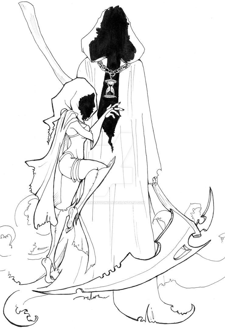 Line Design Art With Mr E : Grim reaper tattoo by darkabyssinian on deviantart