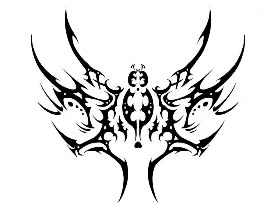 Line Art Tattoo Designs : Tattoo design tribal spider by darkabyssinian on deviantart