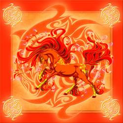 Elemental - Fire by Aaorin