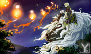 Natsume Yuujinchou - Night Lanterns by Aaorin