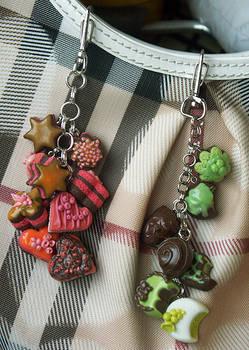 Polymer Clay Sweet Keychains