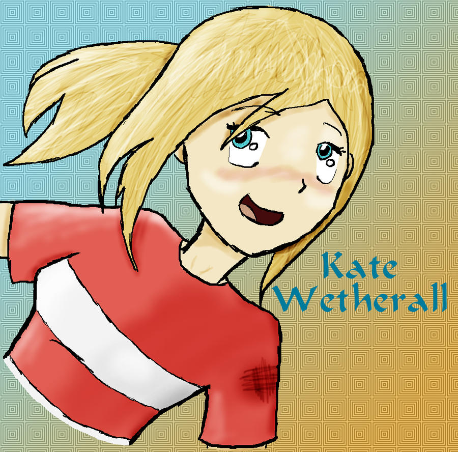 Kate Wetherall by InvaderJes11