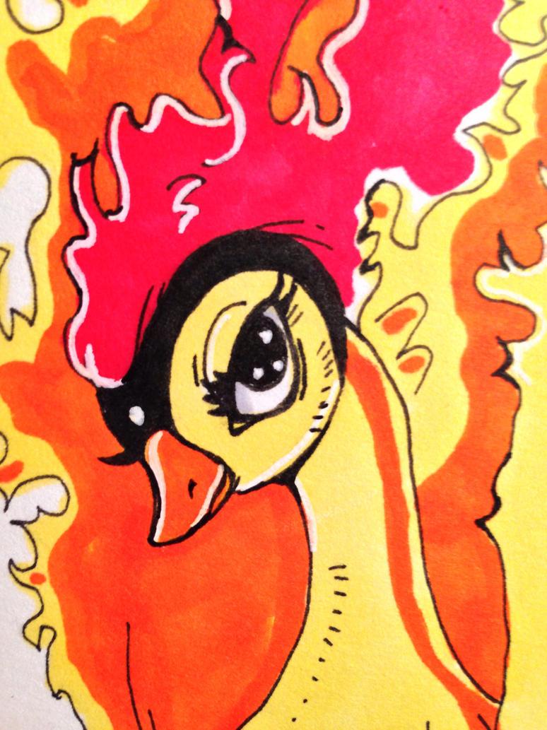 Osamu Tezuka's Phoenix CLOSEUP by kawaiidchan