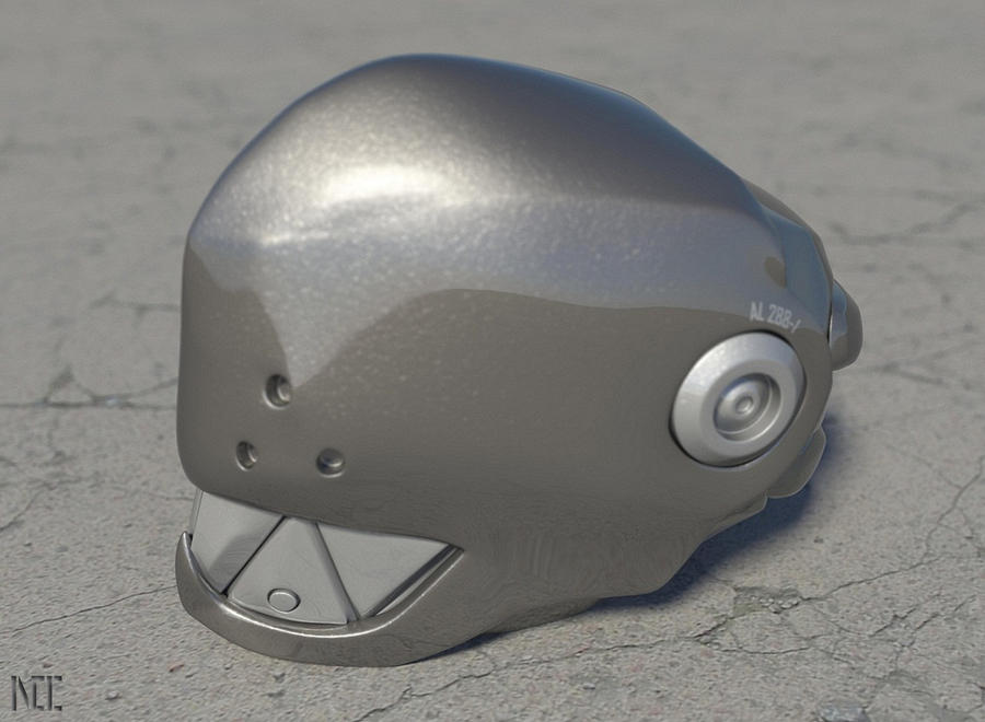 Elfen Lied Cosplay Helmet