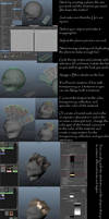 Hair polygon modeling tutorial