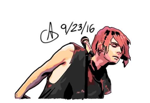 Gerard Way La Cigale 1