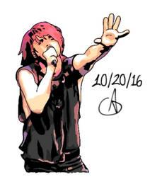 Gerard Way La Cigale 2
