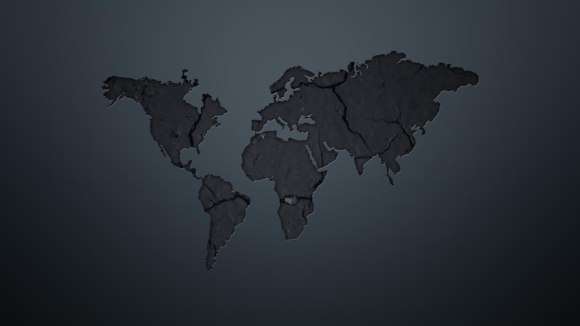 Minimalistic world map by schub3rt on deviantart minimalistic world map by schub3rt gumiabroncs Gallery