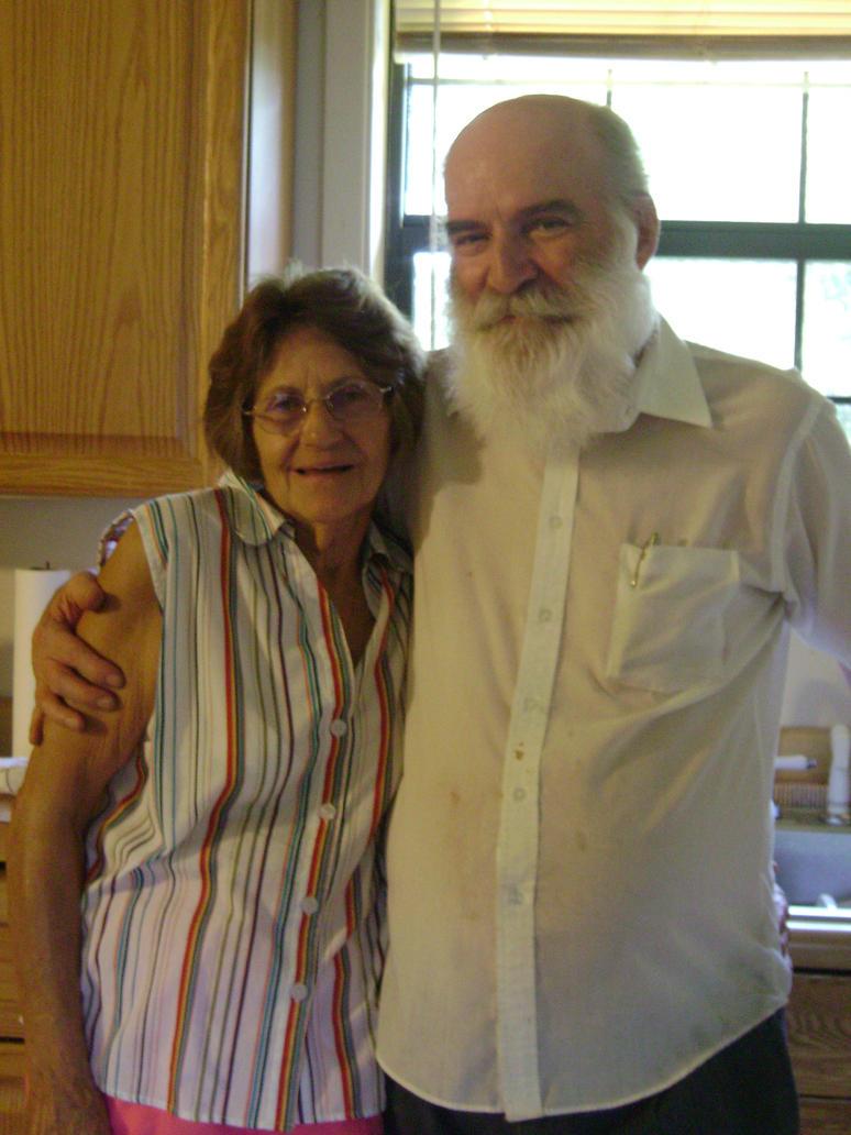Grandma and Pop (2) by KiingCannibal