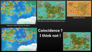 Pokemon Super Mystery Dungeon Map Comparison