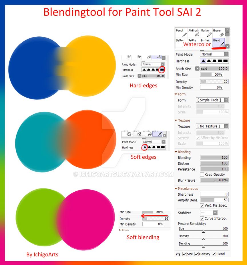 Paint Tool Sai Settings In Clip Studio