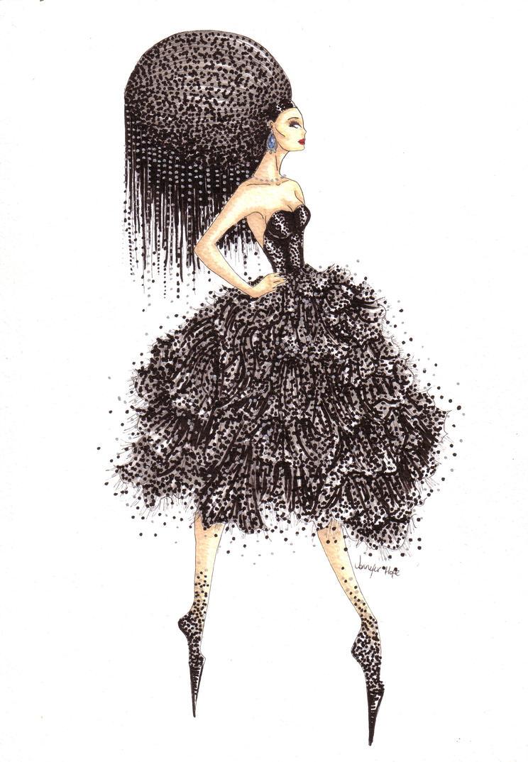 Black Diamond by JenniHope