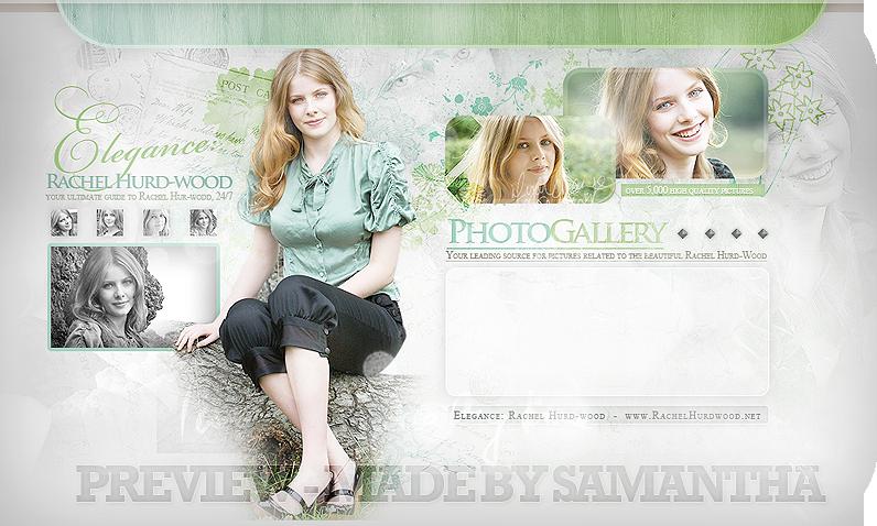 Rachel Hurdwood Gallery header by CrimsonHeartx
