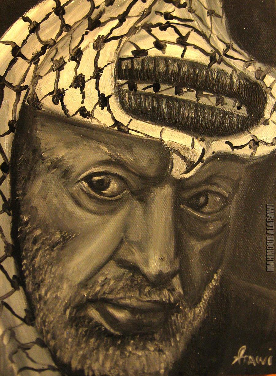 Yasser arafat by mahmoudalarawi