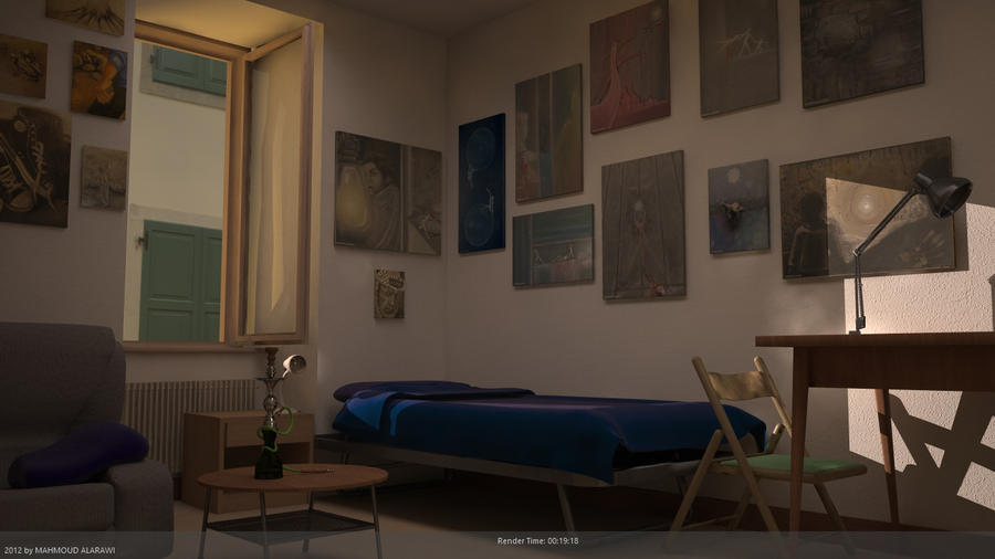 my room 2 by mahmoudalarawi