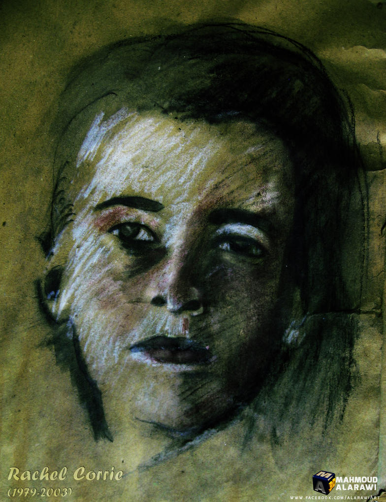 Rachel Corrie by mahmoudalarawi