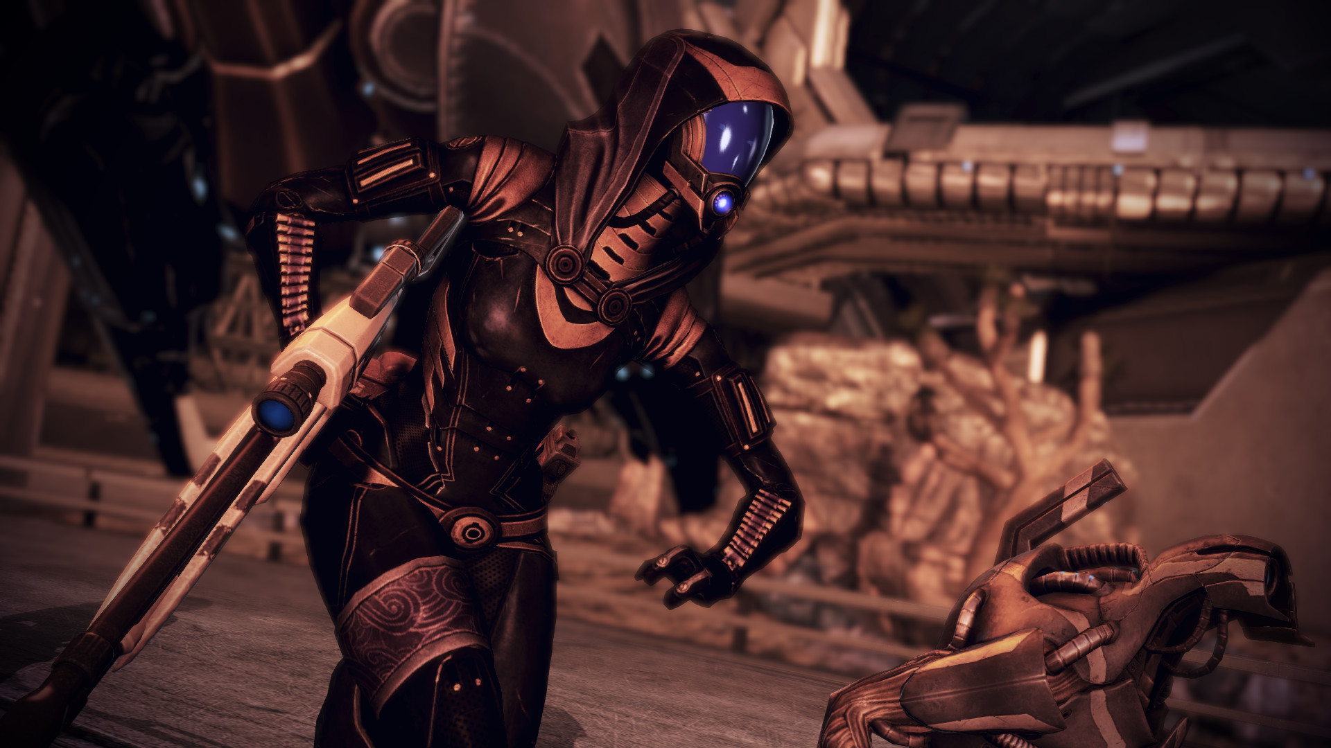 Tali'Zorah vas Normandy 08 by johntesh