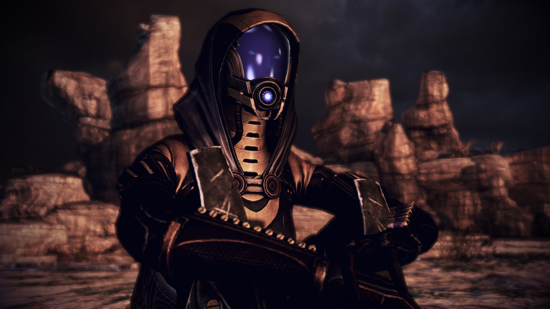 Tali'Zorah vas Normandy 13 by johntesh