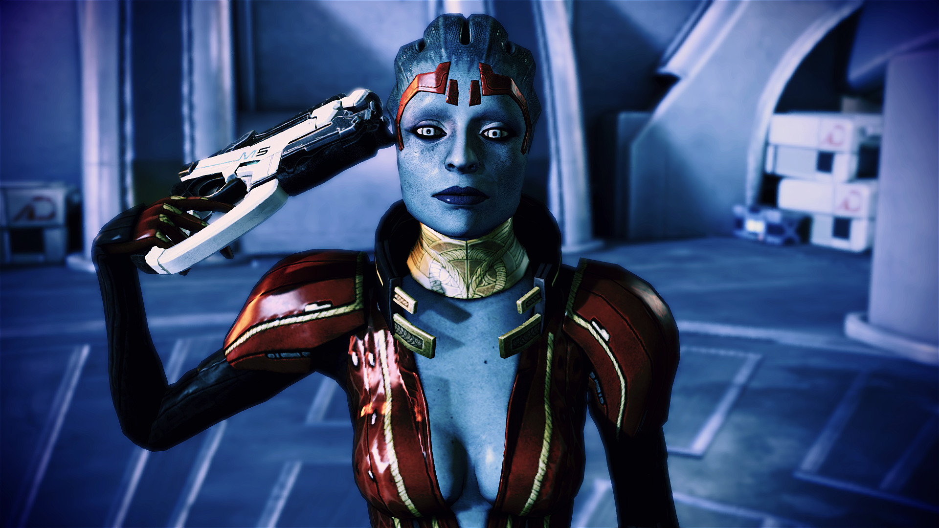 Mass effect 2 porn naked video