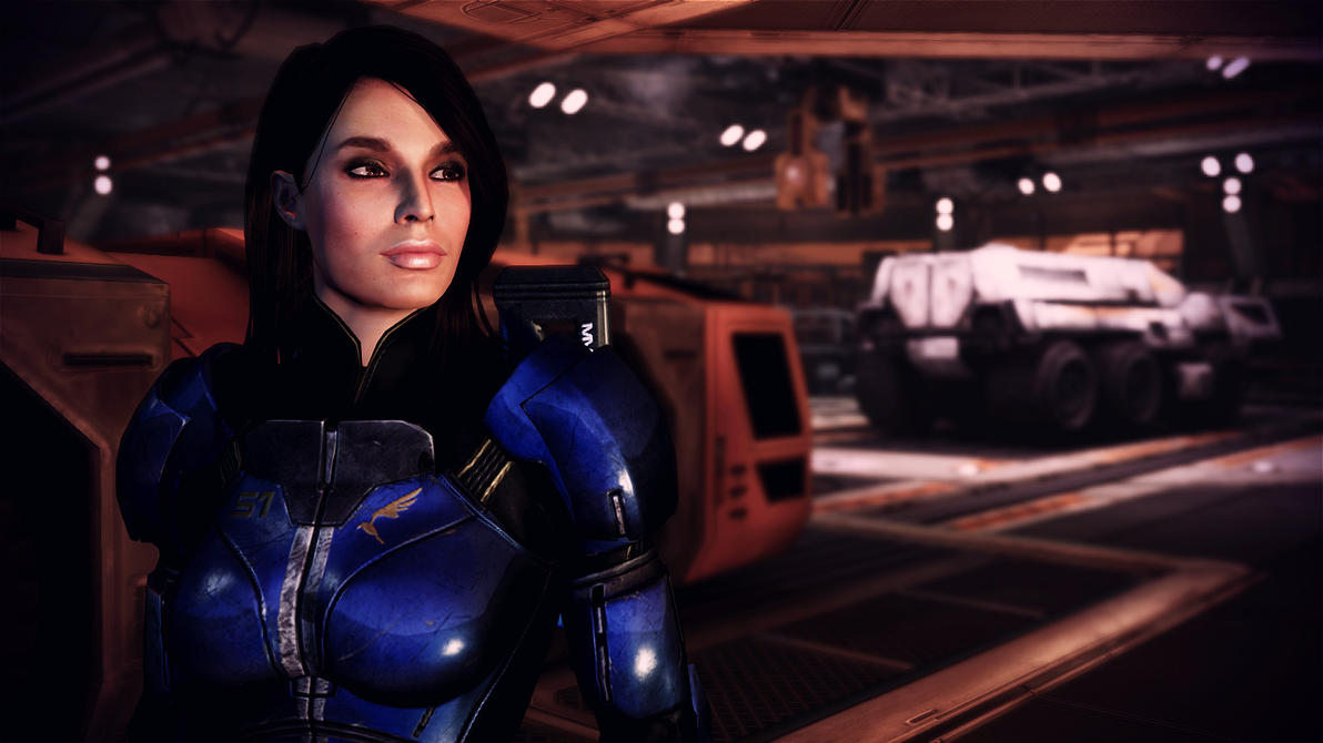 Mass effect 3 ashley williams porne getting  naked movie