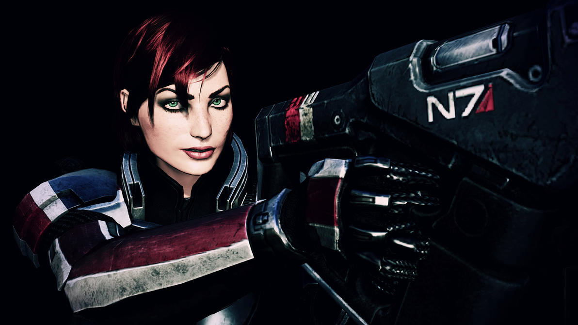 Lieutenant Commander Shepard 03 by johntesh