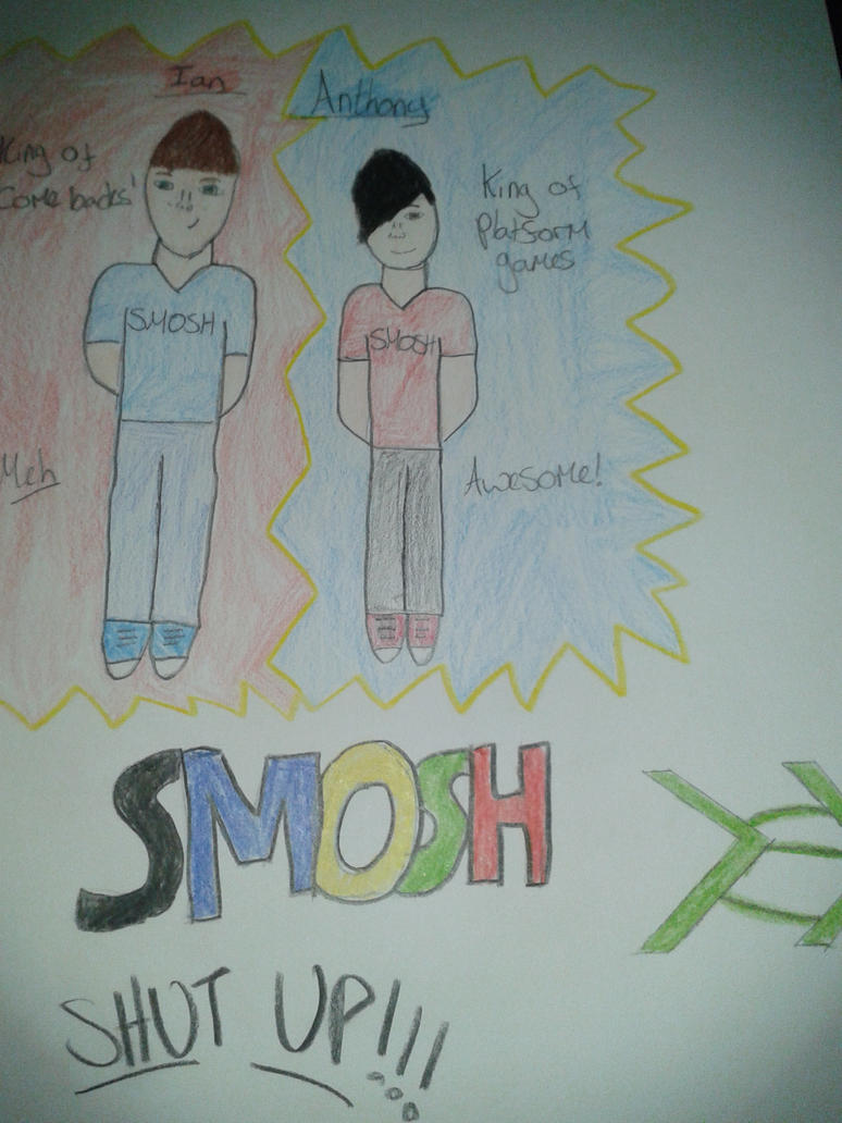 SMOSH! Shut up! by P-Paradox