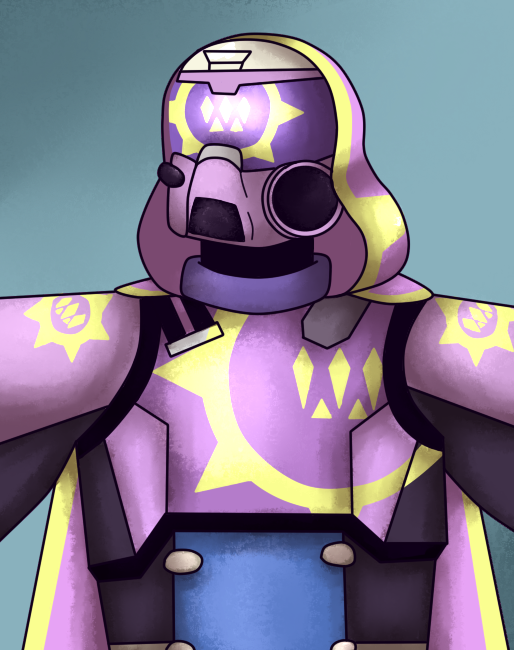 A Dorky Guardian by P-Paradox