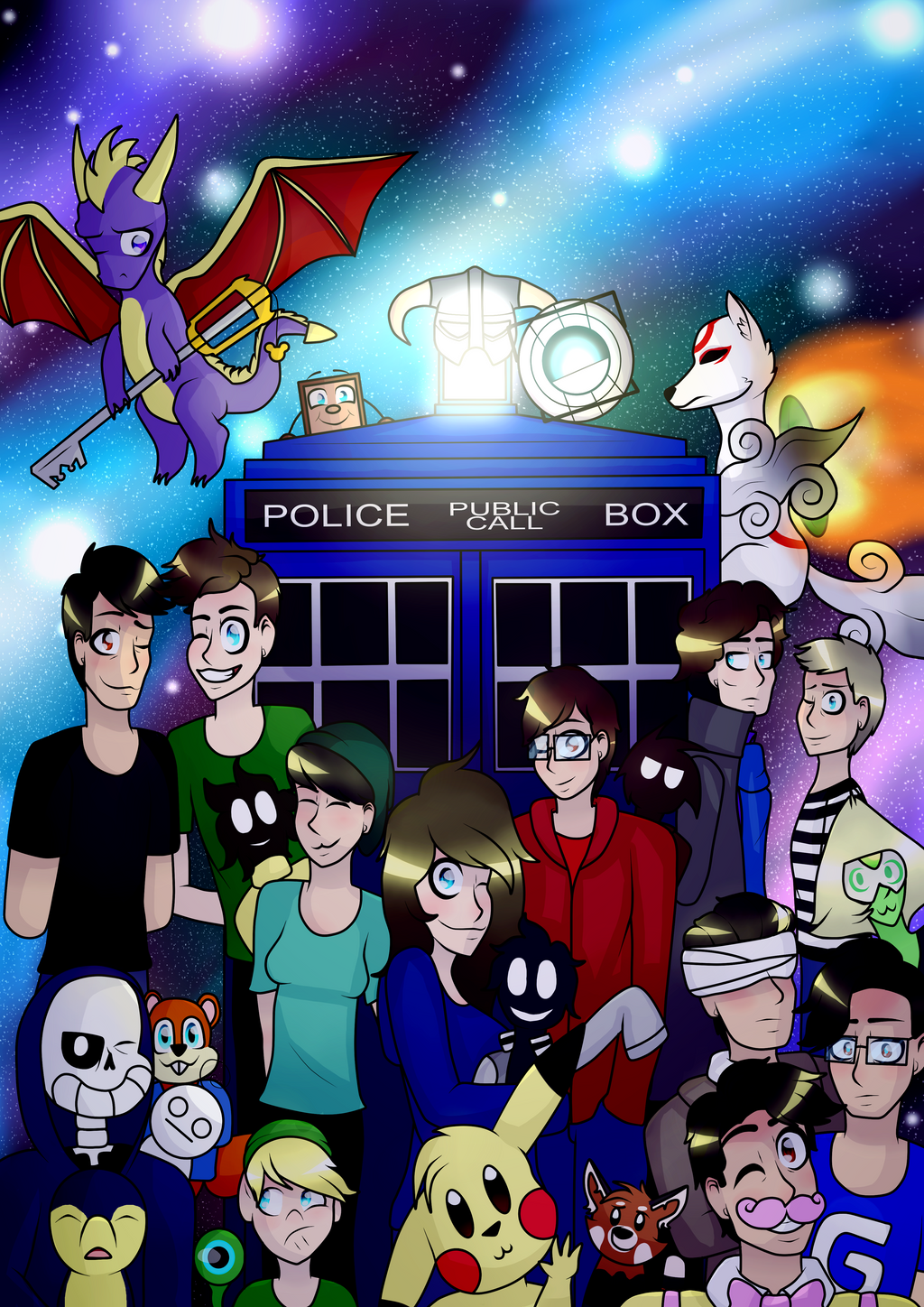 Friends, Favourites and I by P-Paradox