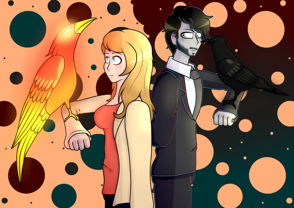 The Phoenix and the Raven by P-Paradox