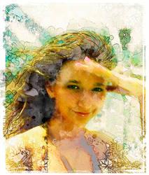 Summer girl by waldemarski