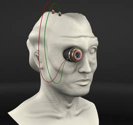 Humanoid Head by waldemarski