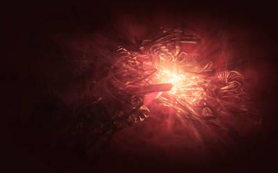 Volumetric C4D explosion by Perbear42