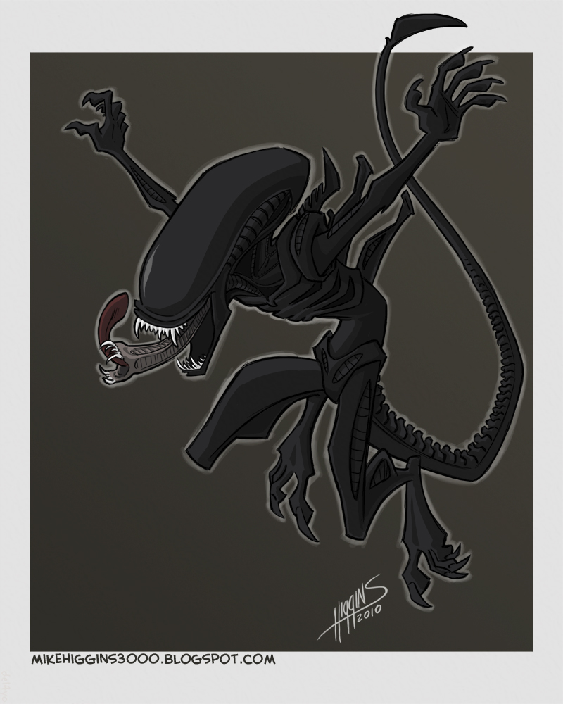 Alien by jmh3k