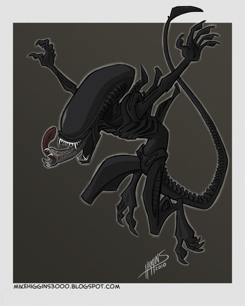 Alien by jmh3k