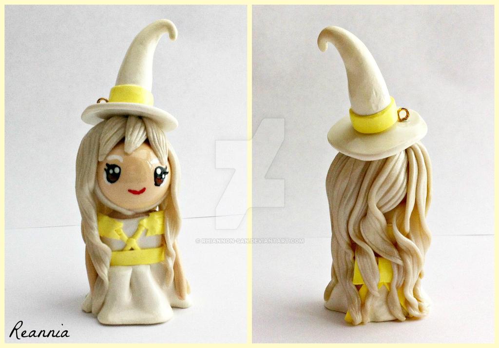 Imbolc Witch Chibi by Rhiannon-San