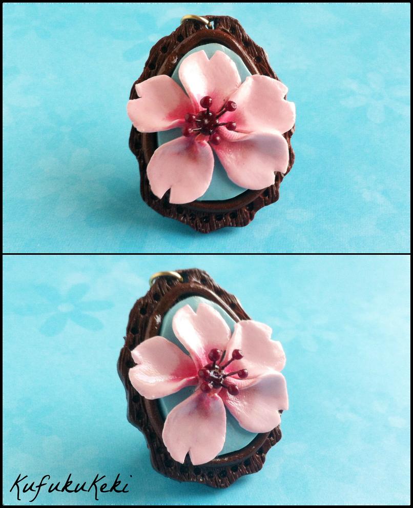 Sakura Pendant by Rhiannon-San