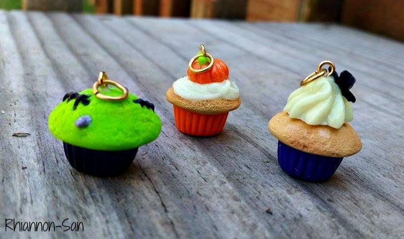Hallowen Cupcakes by Rhiannon-San