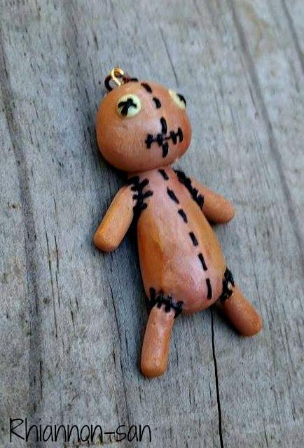 Voodoo Doll Charm by Rhiannon-San