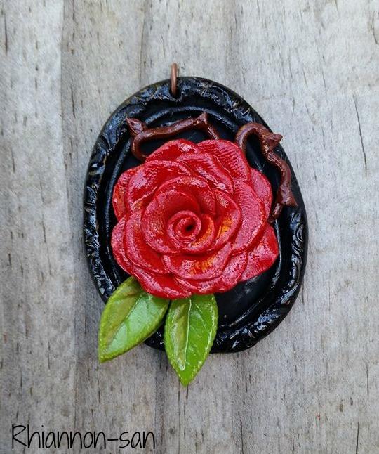 Rose Pendant by Rhiannon-San
