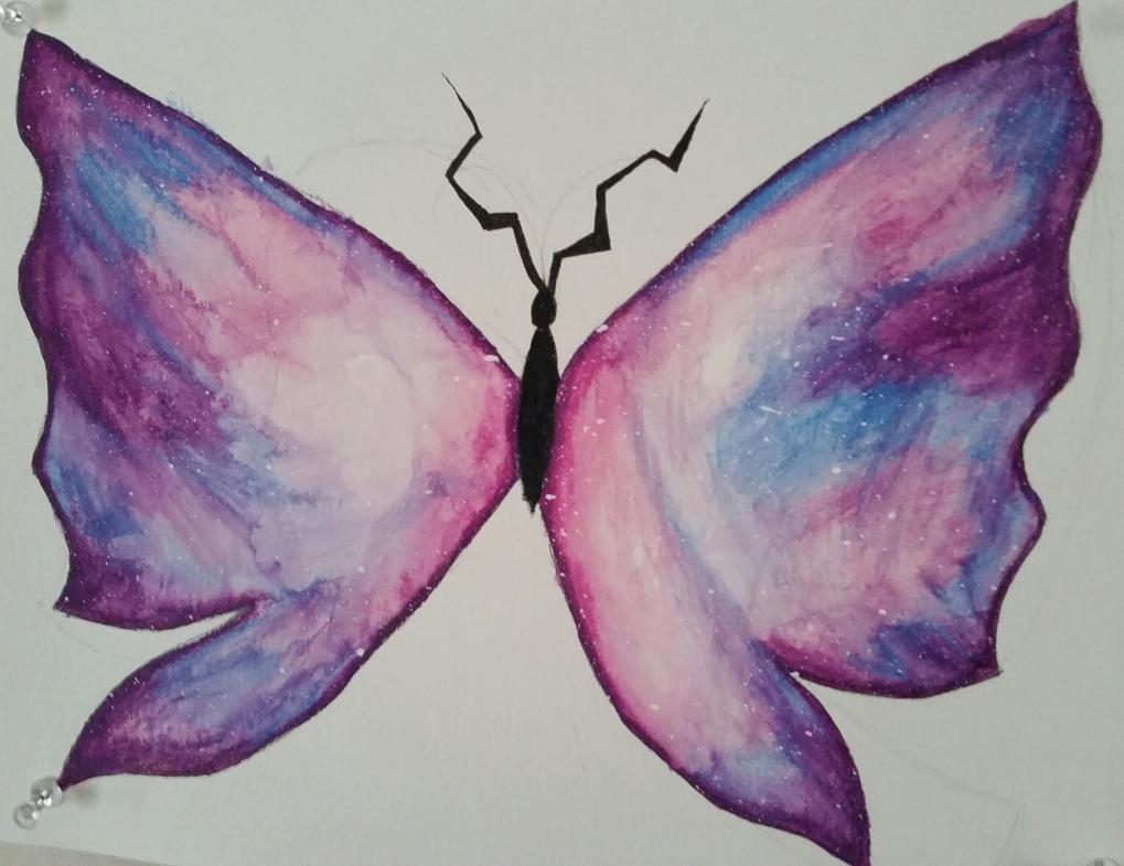 Galaxy Butterfly 2 by Rhiannon-San